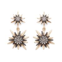Aster Linnea Earrings in Mixed Metal