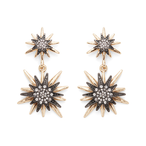 Aster Linnea Earrings in Mixed Metal