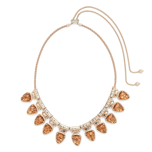 Kendra Scott Willow Necklace in Crushed Gold