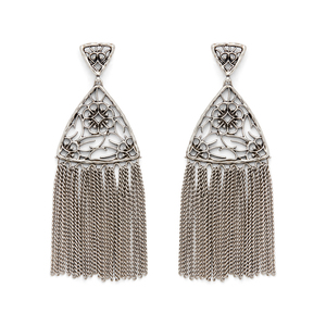 Kendra Scott Ana Earrings in Antique Silver