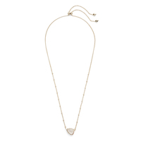 Kendra Scott Arleen Necklace in Crystal Ivory