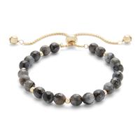 Aster Petal Bracelet in Gold & Lavrakite
