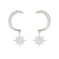 Aster Arum Earrings in Silver