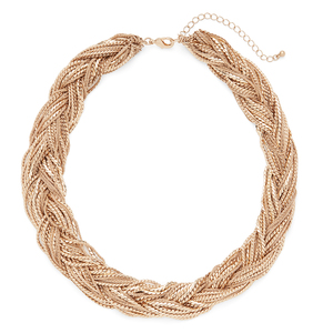 Aster Primrose Necklace in Gold