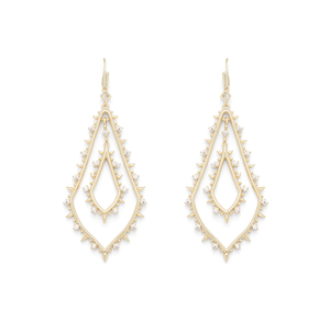 Kendra Scott Alice Drop Earrings in Gold