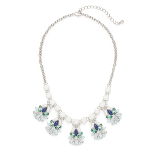 Perry Street Bree Statement Necklace in Silver
