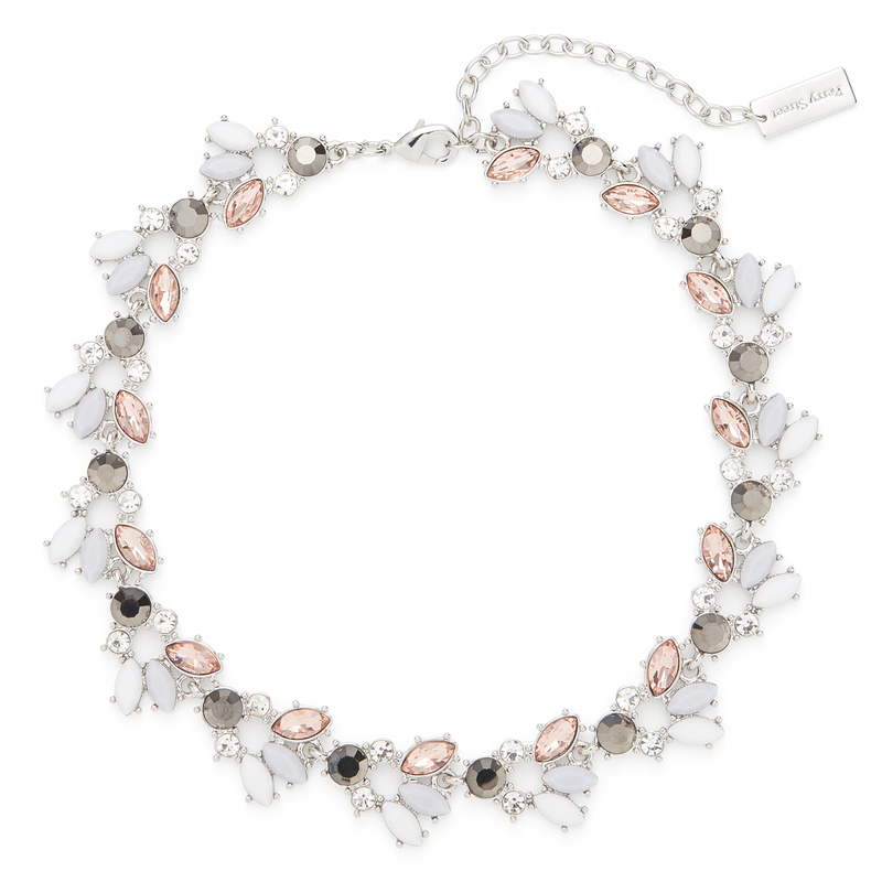 Perry Street Bella Collar Necklace in Silver