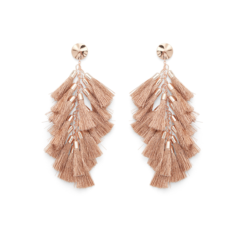 WILDE Milan Earrings in Rose Gold