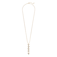 Aster Acacia Pendant Necklace in Dalmatian Jasper