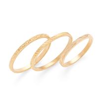Aster Heather Midi Ring Set