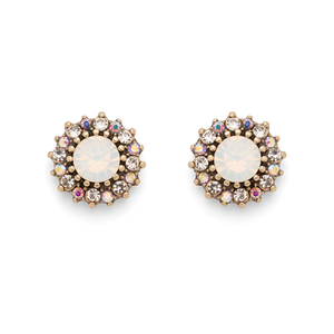 Perry Street Lulu Studs in Gold