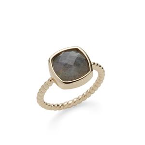 Aster Zinnia Ring in Labradorite
