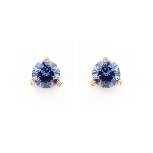 Kate Spade Rise and Shine Small Studs in Light Sapphire