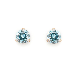 Kate Spade Rise and Shine Small Studs in Aquamarine