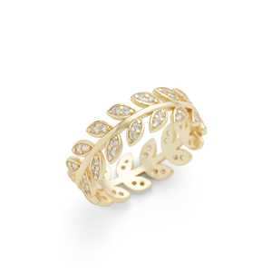 Aster Amelia Ring in Gold