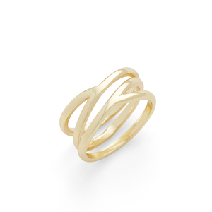 Aster Vine Ring in Gold
