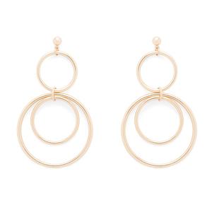 SLATE Zarah Earrings in Gold