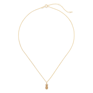 Sophie Harper Pineapple Necklace in Gold