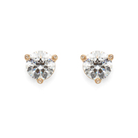 Kate Spade Rise and Shine Small Studs in Crystal