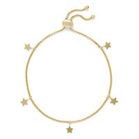 Sophie Harper Star Slider Bracelet in Gold