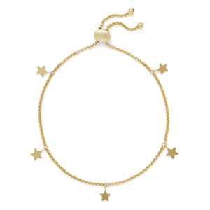 Sophie Harper Star Slider Bracelet in Gold