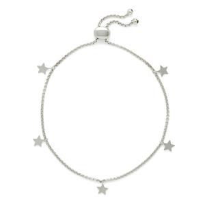 Sophie Harper Star Slider Bracelet in Silver