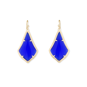 Kendra Scott Alex Earrings in Cobalt