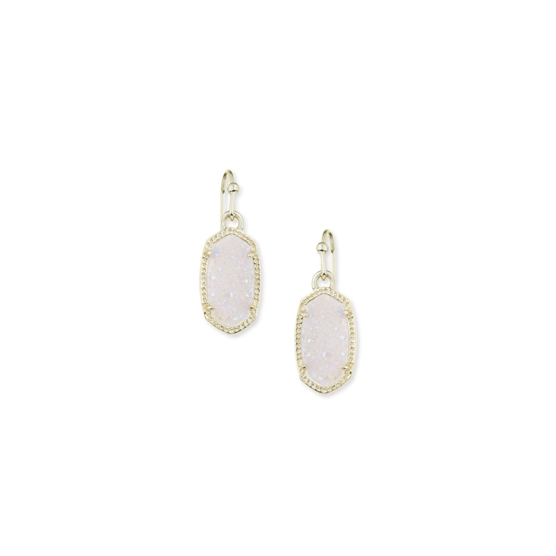 Kendra Scott Lee Earrings in Iridescent Drusy