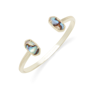 Kendra Scott Elton Bracelet in Gold and Abalone