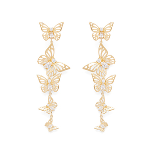 Kate Spade Social Butterfly on Linear Earrings