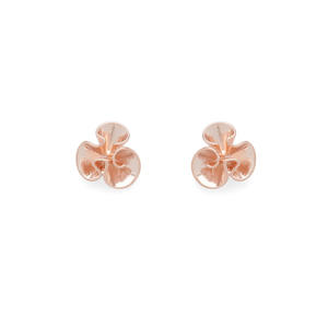 Kate Spade Frilled to Pieces Mini Studs in Rose Gold