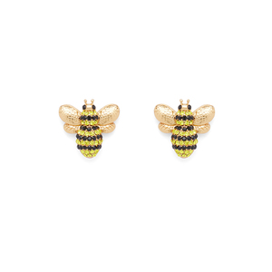 Kate Spade Picnic Perfect Pave Bee Studs