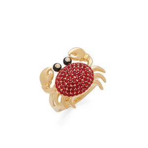 Kate Spade Shore Thing Pave Crab Ring