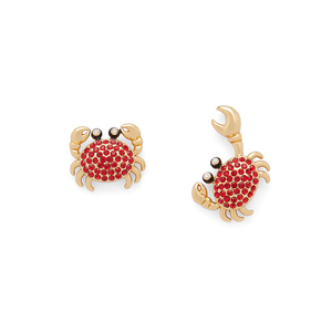 Kate Spade Shore Thing Pave Crab Studs