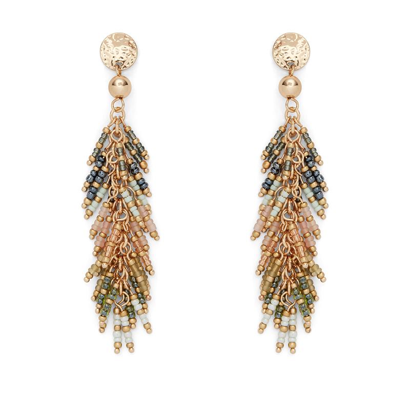 Aster Fern Drop Earrings