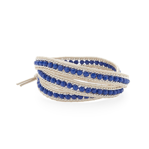 Nakamol Royal Blue and Silver Wrap