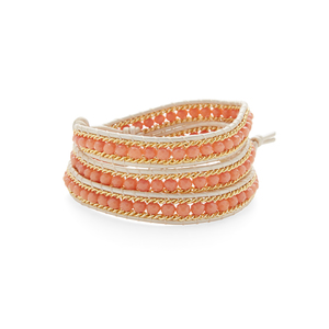 Nakamol Peach and Gold Wrap