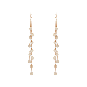Sophie Harper Double Drop Charm Dusters in Gold