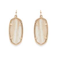 Kendra Scott Elle Earrings in Gold Dusted Glass