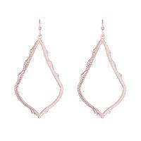 Kendra Scott Sophee Earrings in Rose Gold